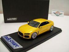"""Audi Sport Quattro """"Concept"""" IAA Ffm 2013, Gelbmetallic, Looksmart 1:43, OVP"""