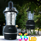 36LED Solar Lantern Camping Tent Light Outdoor Hand Crank Dynamo Lamp Rechargeab