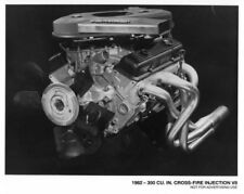 1982 Chevrolet 350 Cu In Cross-Fire Injection V8 Engine Press Photo 0112