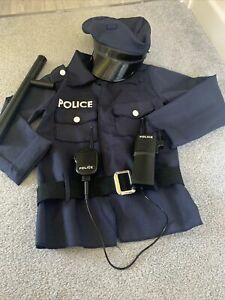 Police Dress Up Outfit 3-6 Years