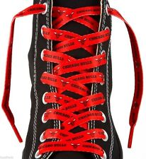 """NBA Chicago Bulls One Pair Lace Ups 54"""" Shoe Laces Basketball"""