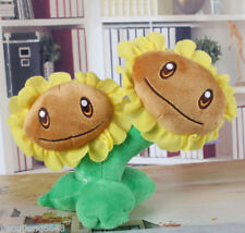 Twin sunflower Plants vs Zombies 2: It's About Time Soft Plush Toy Stuffed 16cm