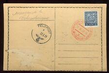 Tchécoslovaquie - Oblitération du 17/III /39 sur carte ( invasion )