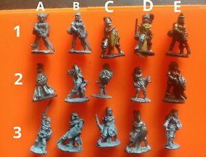 15x C01 warriors maiden fighters female citadel GW compendium pre-slotta fighter