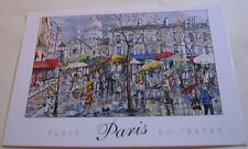 France Paris Place du Tertre - posted 2014