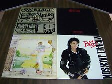 Collectible Vintage Lot Of 4 Vinyl LPs 33 RPM Records Various Artists