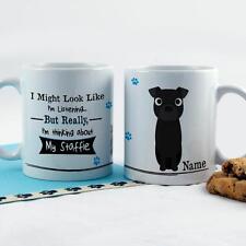 Personnalisé Fun staffordahire Bull Staffy Dog chiot tasse thé/café Travail Cadeau