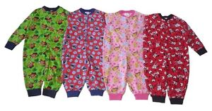 Boys & Girls Jump Suit Pyjamas Thomas Disney Jake Minnie & Princess
