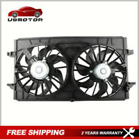 New Dual Radiator Cooling Fan Assembly For Chevy Malibu Saturn Aura 674-00849