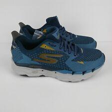 SKECHERS Go Run Ultra Road 2 Running Shoes Gray Blue Men's Size 8