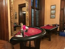 More details for casino roulette table, roulette wheel, blackjack/poker table and accessories