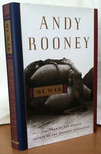 MY WAR by Andy Rooney (Foreword by Tom Brokaw) (hardcover)