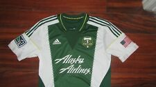 Portland Timbers rare Green game soccer city  jersey Mens Large MLS authentic