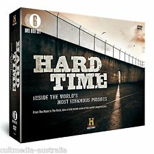 HARD TIME INFAMOUS PRISONS DOCUMENTARIES HISTORY CHANNEL COLLECTION NEW 6 DVD R4
