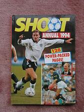 Shoot Football Annual 1994 Gascoigne McCoist Manchester United Team   Mint