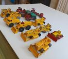Joblot 15 Vintage Lesney Moko Construction/Commercial Vehicles