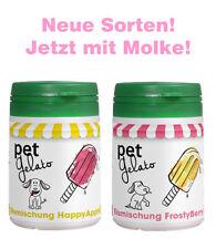 petGelato Eismischung - FrostyBerry & HappyApple - mit Molke - 2x 44g - Hundeeis