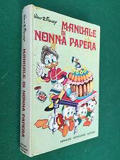 Walt Disney - IL MANUALE DI NONNA PAPERA Mondadori (1° Ed 1970) Libro Cop Rigida