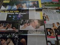 JOHN MAYER CELEBRITY  CLIPPINGS PACK  GOOD CONDITION