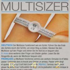 10 x Multisizer Ringröße Ringweite selber bestimmen Ring Größe messen Maß  99010