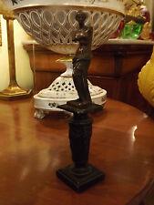 Statua  di piccola misura antica in bronzo neoclassica Venere di milo