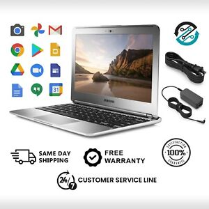 🔥Samsung Chromebook Laptop 🔥Dual-Core 1.7GHz 2GB 16GB 🔥100% Guaranteed Refurb