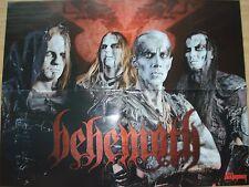 ANTHRAX  /  BEHEMOTH    __  1 Poster / Plakat   __  45 cm x 58 cm