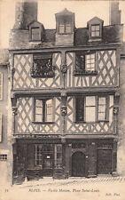 BLOIS 71 vieille maison place saint-louis doreur sur métaux Laigle écrite