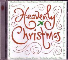 Heavenly Christmas RHINO CD Classic Great MANNHEIM STEAMROLLER TSO CARLY SIMON