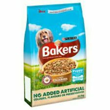 More details for bakers puppy complete dry dog food chicken 12.5kg