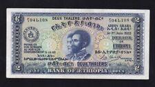 ETHIOPIA ------ 2  THALERS  1933 ----- VF+ ------ R