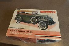 Vintage Gabriel Hubley Metal Model Kit 1932 Chevrolet Phaeton Old Toy Car #4865
