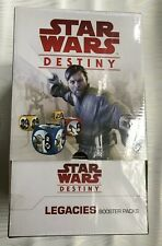 Star Wars Destiny: Legacies Booster Display 160 new cards ! Factory Sealed!