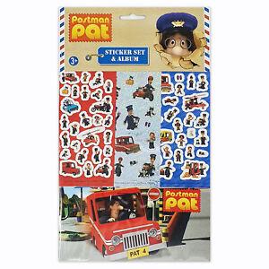 Postman Pat Sticker Album 6 Sheets