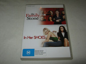 The Family Stone + In Her Shoes - VGC - DVD - R4