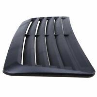 Car Decorative Air Flow Intake Scoop Turbo Bonnet Vent Cover Hood Carbon Fiber