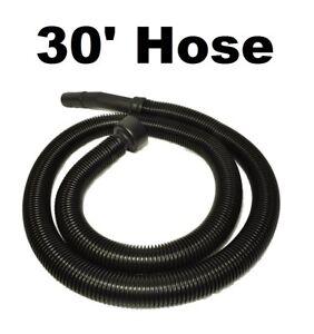 "30 Foot Vacuum Cleaner Hose 1 1/4"" Diameter Fit Ridgid Craftsman Genie Shop Vac"