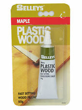Selleys Maple Plastic Wood 50g Fast Setting Wood filling Cement 04-874