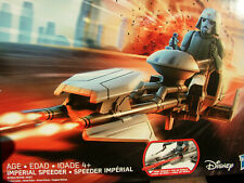 STAR WARS REBELS IMPERIAL SPEEDER VEHICLE w/ AT-DP PILOT FIGURE MISB NEW!
