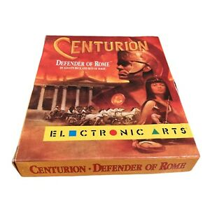 Centurion Defender of Rome IMB PC Electronic Arts Strategy Action Retro Untested