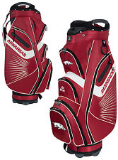 Team Effort Bucket II Cooler NCAA Collegiate Golf Cart Bag Arkansas Razorbacks