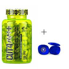4 + Nutrition CUT 4 HIM+ 120cpr Termogenico con Acetil carnitina + OMAGGIO