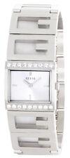 GUESS Womens Silver Dial Stainless Steel Bracelet Watch W10235L1