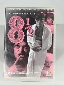 Fellini's 8-1/2 DVD