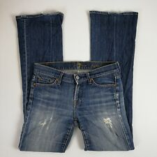 7 Seven For All Mankind Boot Cut Jean Women Size 25