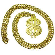 German Trendseller® - Dollarkette Kette Dollar Dollarzeichen Rapper Gangster USA