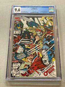 X-Men #5 (1992) Key 1st Maverick Omega Red Cover CGC 9.6 White Pages 1005