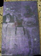 Antique Vintage 1946 CIRCUS  ACROBATS Photo Negative Metal Printing Stamp