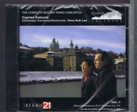 KATSARIS YOON KUK LEE CD NEW MOZART PIANO CONCERTOS