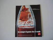 advertising Pubblicità 1970 COCACOLA COCA COLA